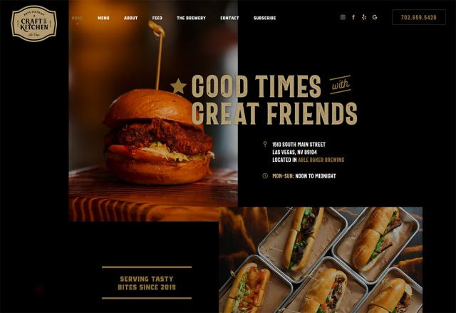 craftkitchen - Top Trends for web Design and UI  for 2020