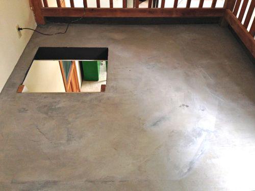 diy concrete floor cheap home diys