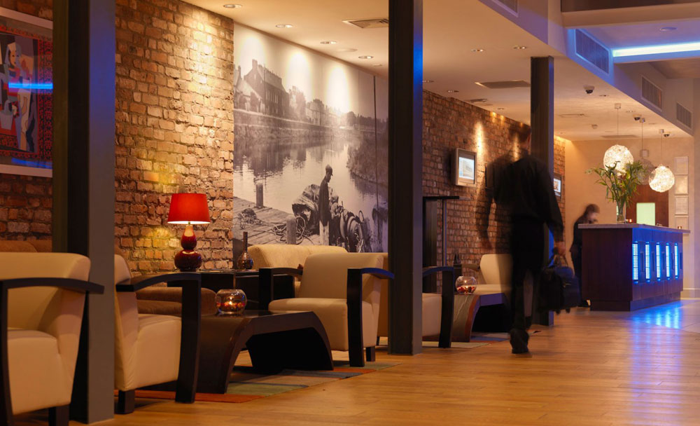 Absolute Hotel, Limerick - Reception Lounge