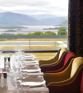 Aghadoe Heights Hotel Interiors - Dining Room