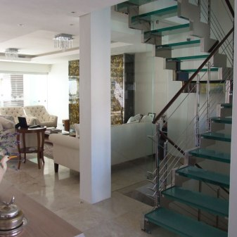 Penthouse Villa - Glass Staircase
