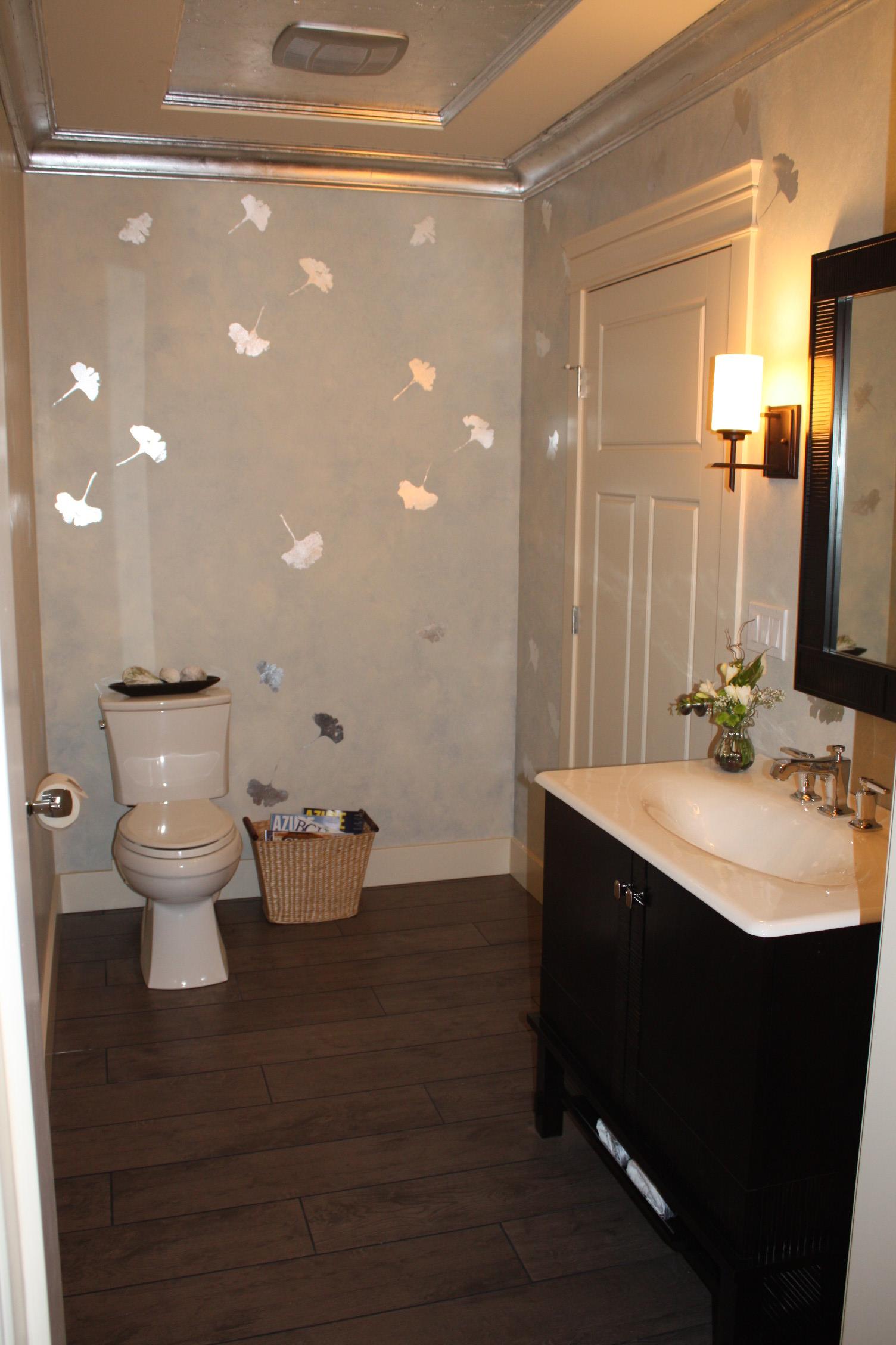 PNE Home Powder Room ~ Gill Kirby Decorator