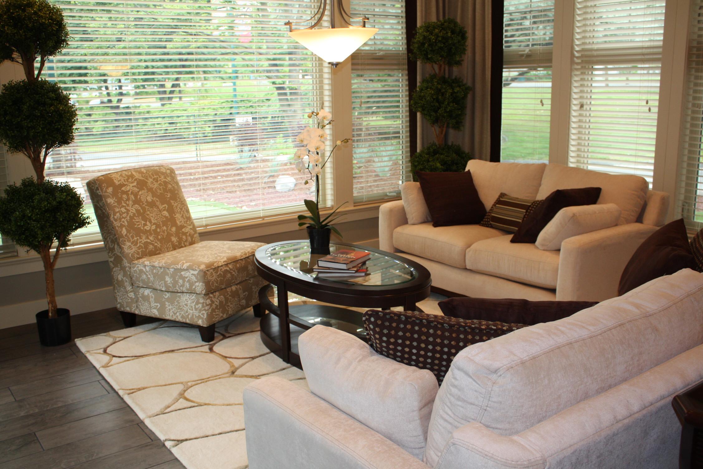 PNE Home Great Room ~ Camille Savage decorator