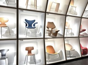 wishbone chairs black rattan chair the danish - design museum denmark