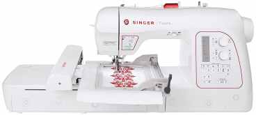 best sewing and embroidery machine; SINGER XL-580 Futura - A Budget Friendly Machine with Top Performance