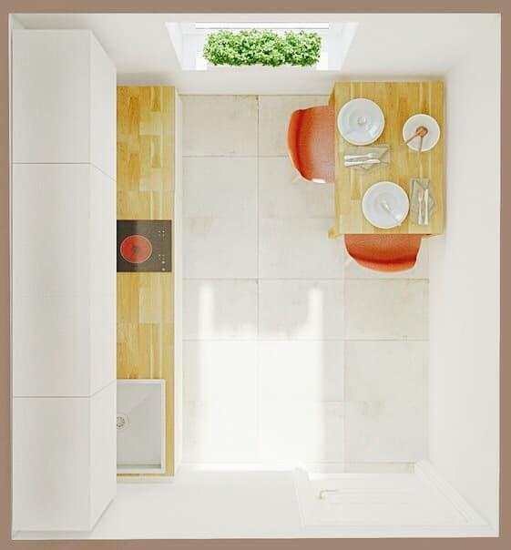 kitchen pantry menards backsplash tile 5布局适合小厨房 单排没有冰箱