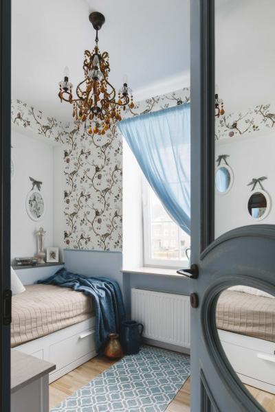 дизайн маленькой спальни 6 квм фото 2