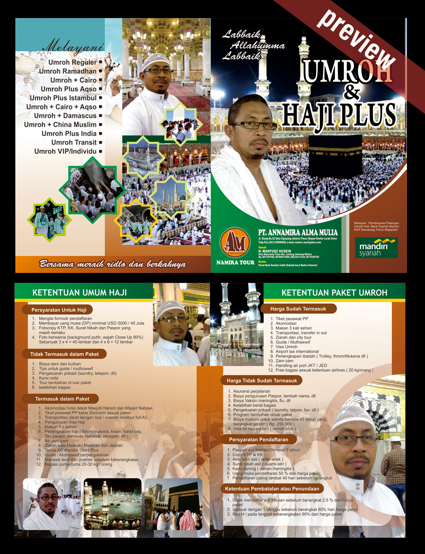 Banner Haji Format Cdr : banner, format, Desain, Namira, Umroh, Annida, Creative