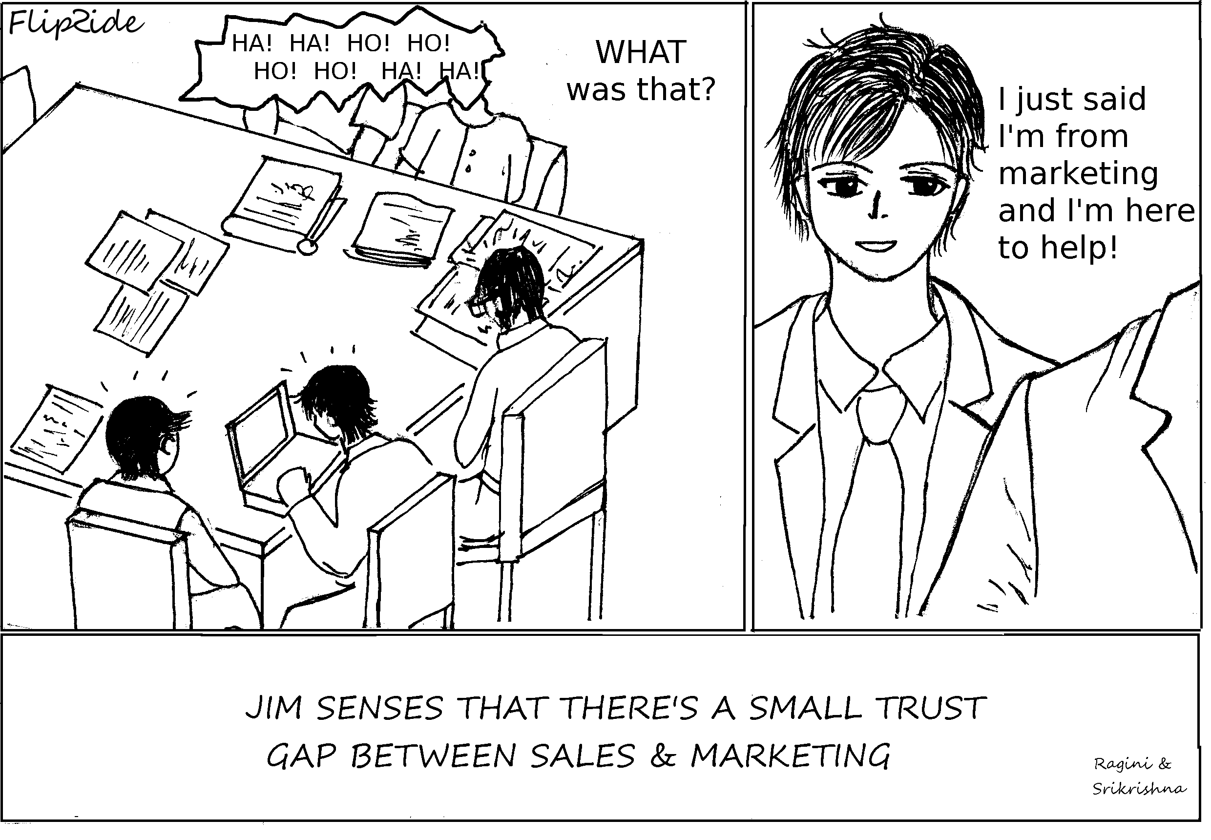Who does marketing help?