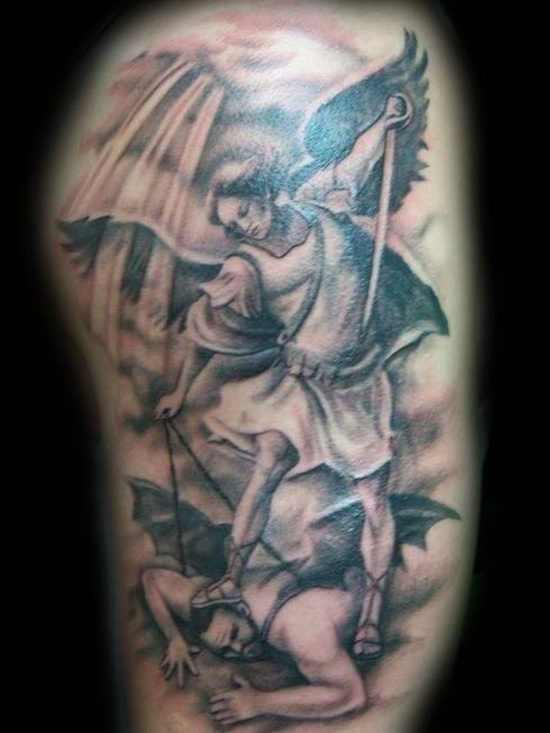 Angel Warrior Tattoo Designs