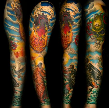 20 Christian Forearm Tattoos Color Ideas And Designs