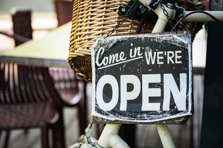 pop-up shops, quick open