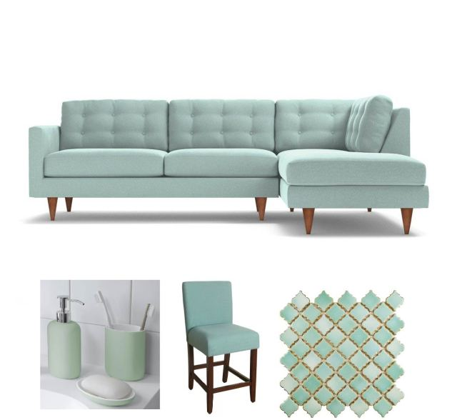 colour, repeat, teal, open concept