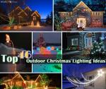 Outdoor Christmas Lighting Ideas TZKW