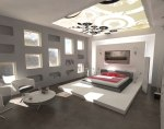 White Bedroom Interior Design MFIA