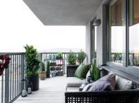 Apartment Big Balcony Ideas