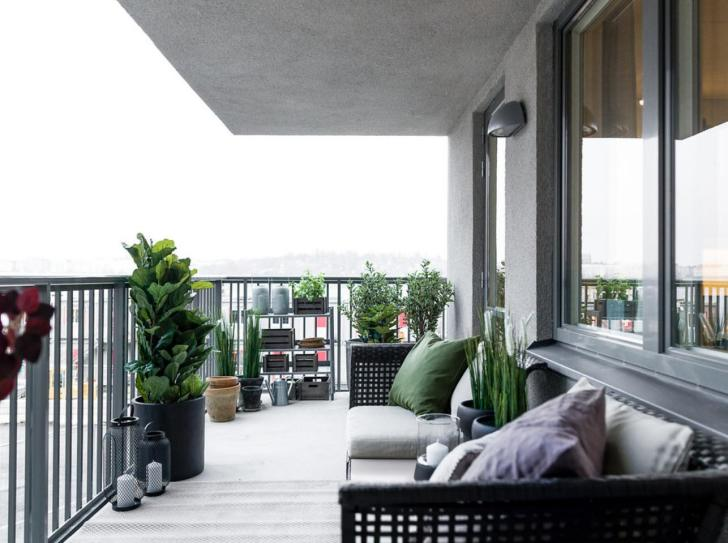 Get Apartment Big Balcony Ideas Pictures