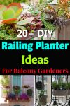 Balcony Railing Garden Ideas