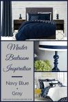 Navy Blue Headboard Bedroom Ideas