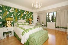 Tropical Bedroom Interior Design