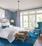 Bedroom Ideas In Blue And Grey