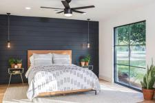 Black Accent Wall Bedroom Ideas