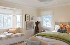 Green Cream Bedroom Ideas