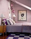 Purple And White Bedroom Designs