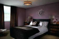 Black Purple Bedroom Designs
