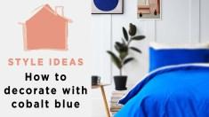 Cobalt Blue Bedroom Ideas