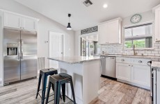 White Shaker Kitchen Pantry Cabinets