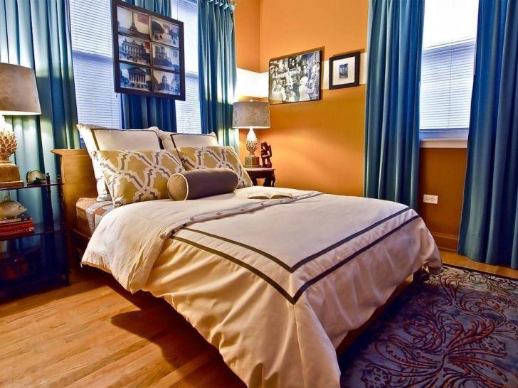 19+ Orange Floor Bedroom Designs Pics