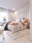 navy and blush pink bedroom ideas