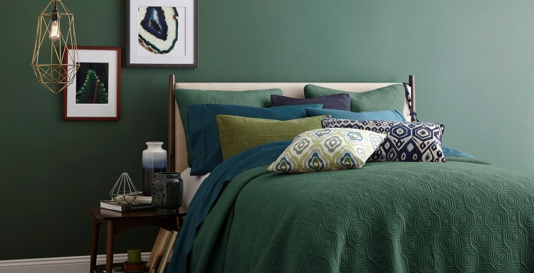 Green Bedroom Walls Ideas And Inspirational Paint Colors Behr