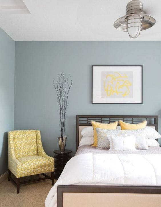 Paint Ideas For Bedrooms In A Range Of Colors Domino Bedroom Interior Guest Bedrooms Bedroom Design