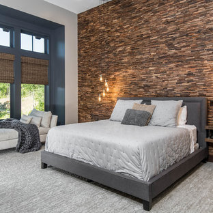 75 Beautiful Rustic Master Bedroom Pictures Ideas January 2021 Houzz