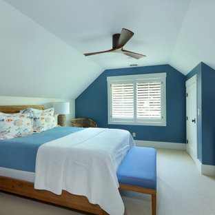 75 Beautiful Coastal Bedroom With Beige Walls Pictures Ideas January 2021 Houzz