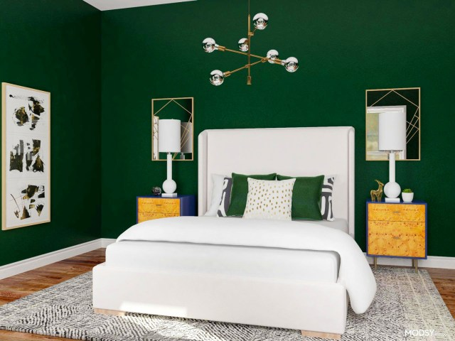 5 Green Bedroom Ideas For The Perfect Relaxing Retreat Modsy Blog