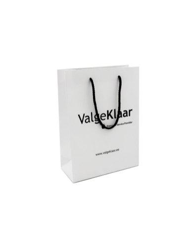 Valge Klaar paper bag with rope handles