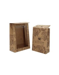 Paper bags with flap