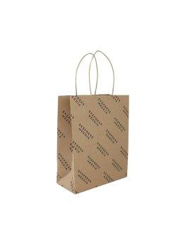 Ekspress Meedia twisted handle paper bag with reinforcement