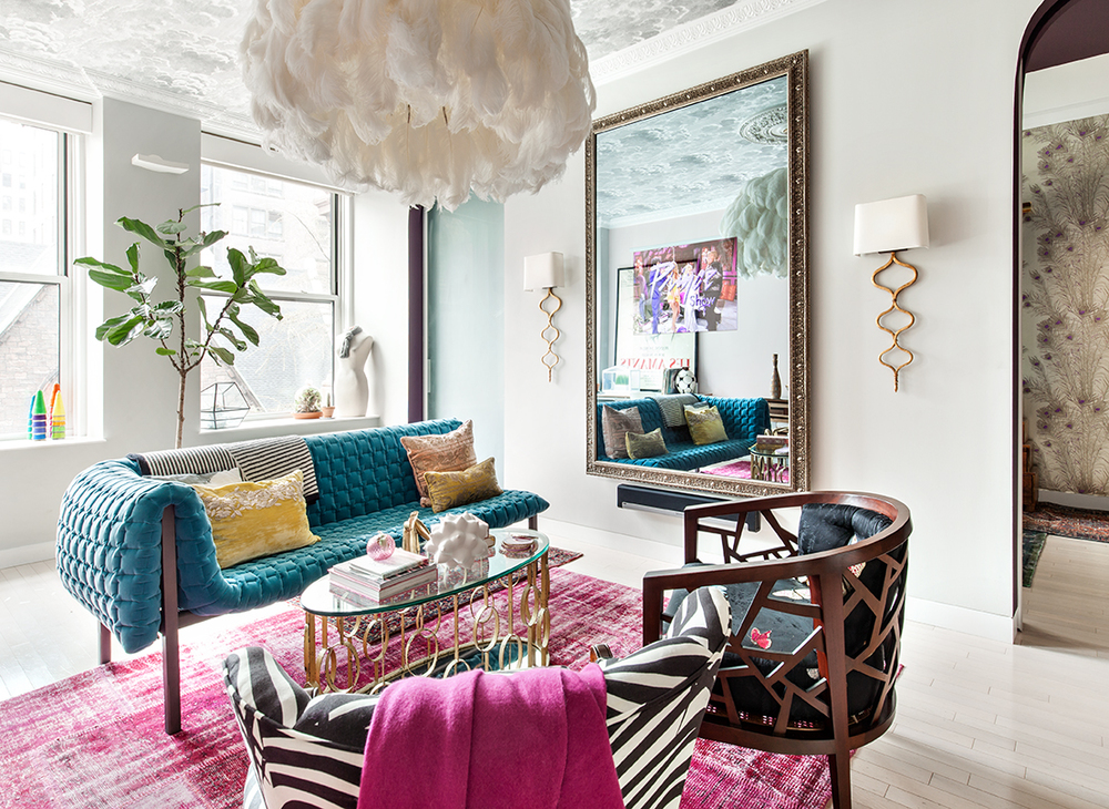 Design Peeper- A round-up of my favorite velvet interiors