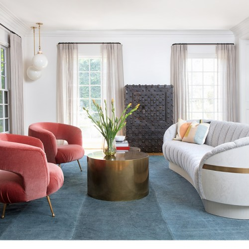 Hilary Duff's Vibrant Home Interior