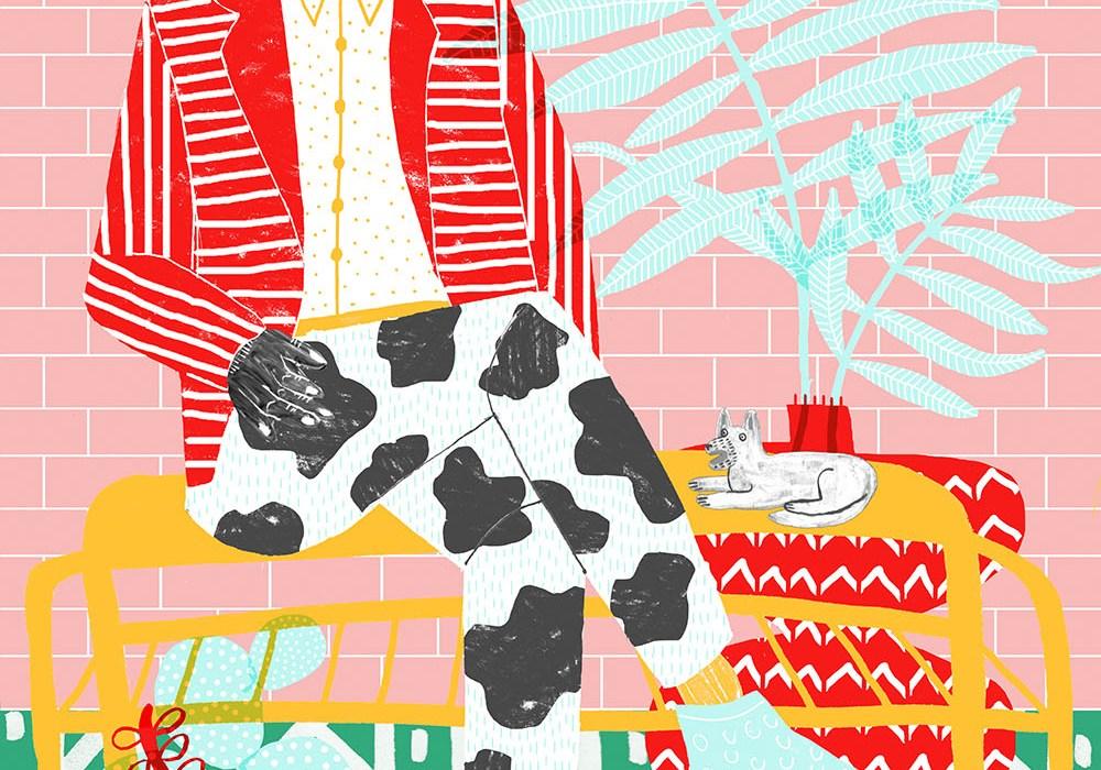 Illustrations from Camilla Perkins