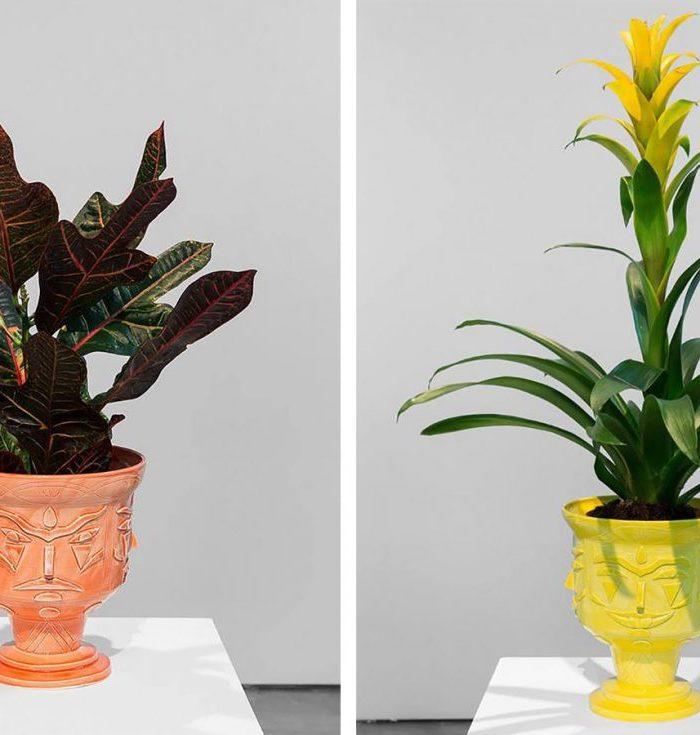 Moody Ceramic Vases by AKACORLEONE