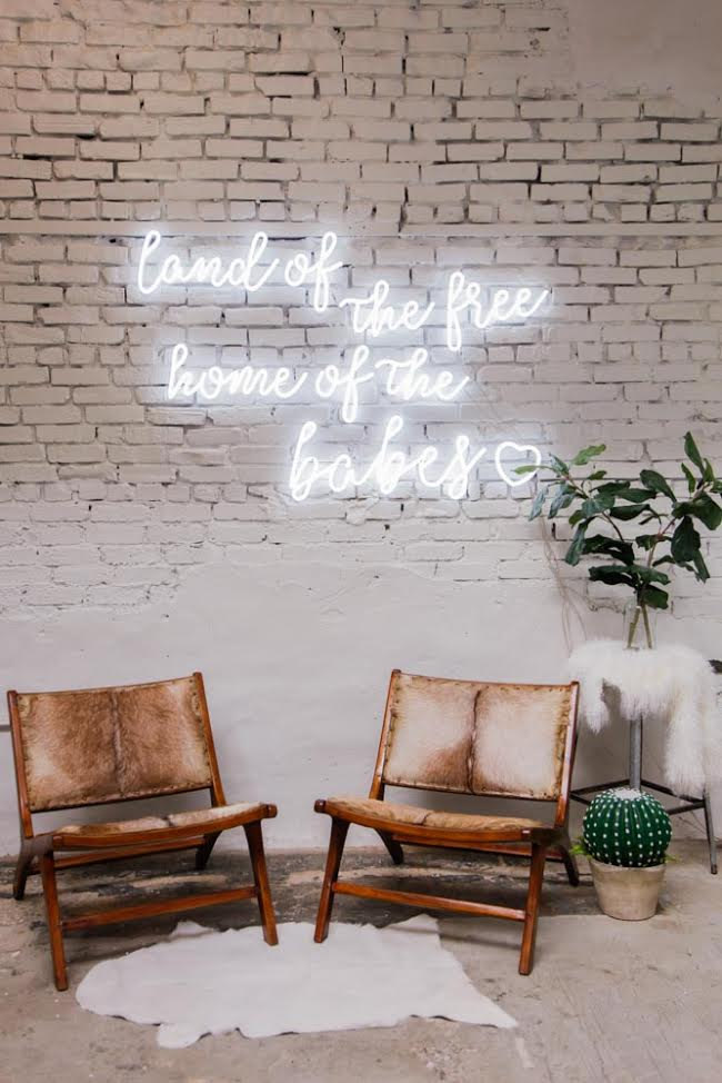 Currently crushing on Neon Lights
