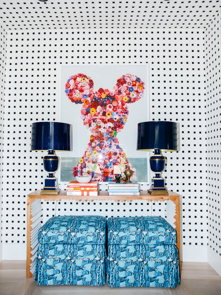 Designer's Home Gives Us a Lesson on Using Prints