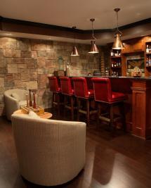 Man Cave Bar Ideas for Basement