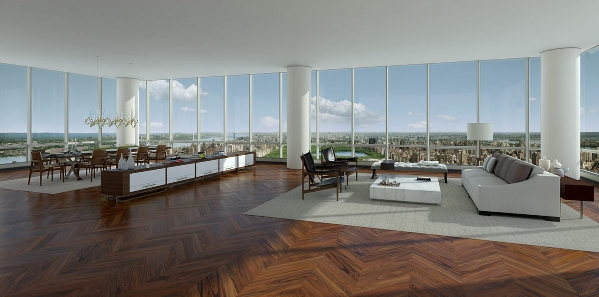 This Is What A 100 Million $ Penthouse From New York Looks