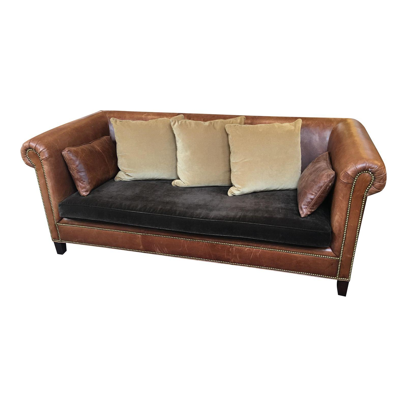 ralph lauren home chesterfield sofa leather clearance sofas frasesdeconquista
